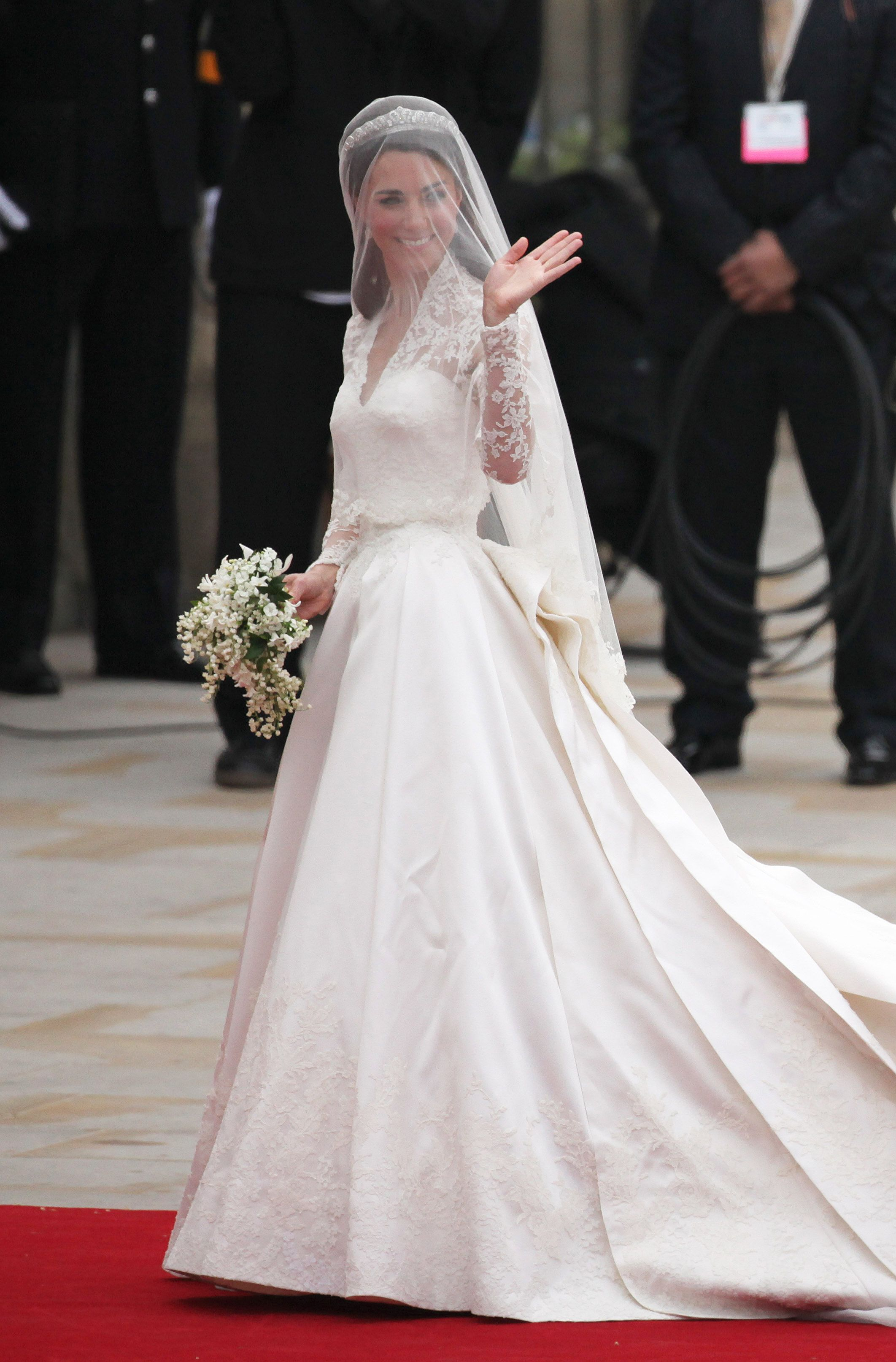 Royal wedding dress  Look Back at All the Best Photos From Kate and Willus Royal Wedding