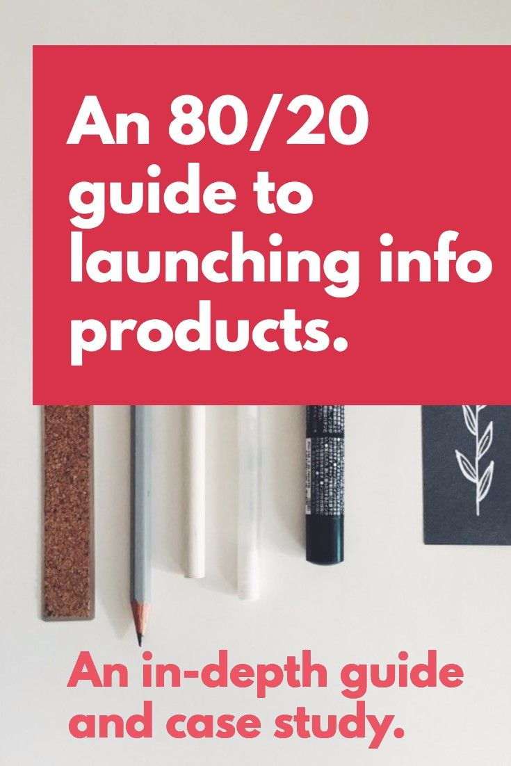 An  Info Product Launch Checklist  Case Study  Blogging