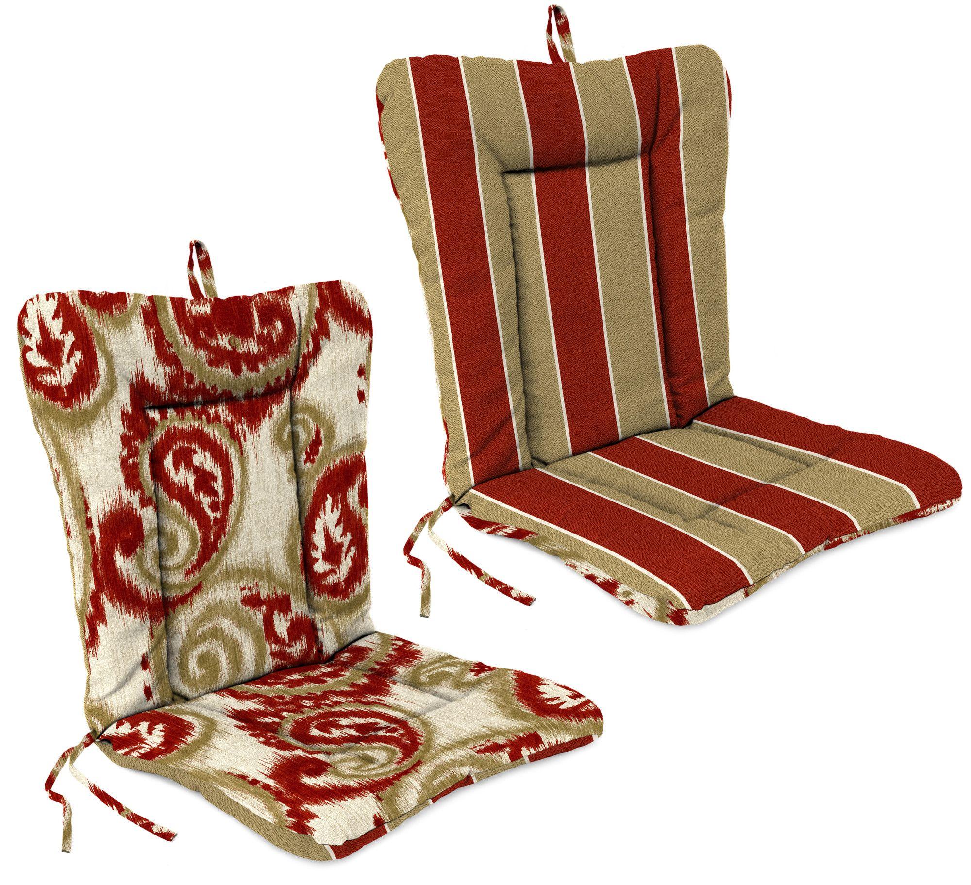 indoor outdoor adirondack chair cushion products rh pinterest es