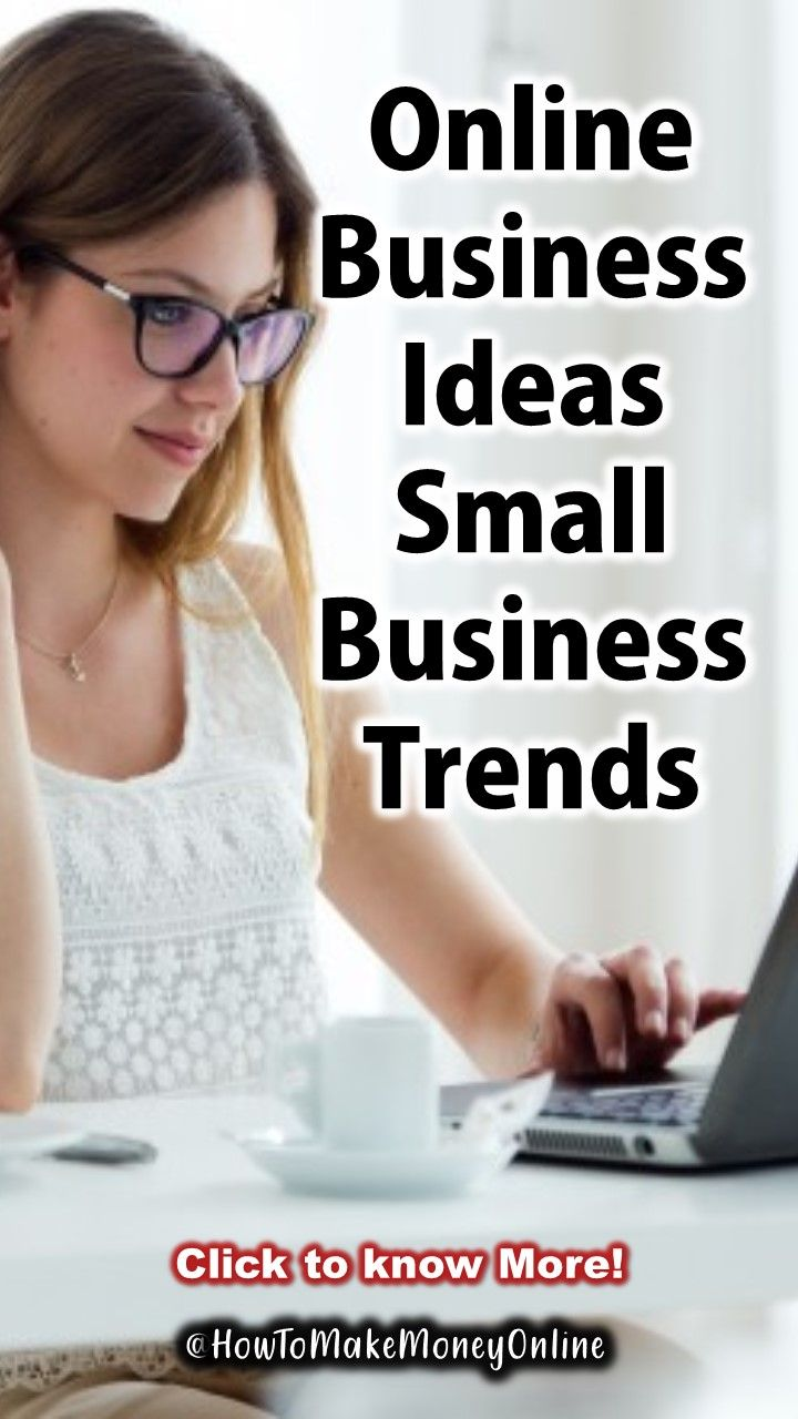 Online busniness concepts, small business trends 2019