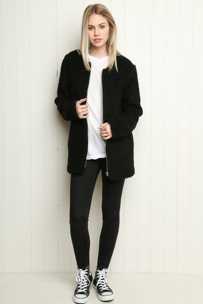 Brandy ♥ Melville | Lalita Coat - Clothing