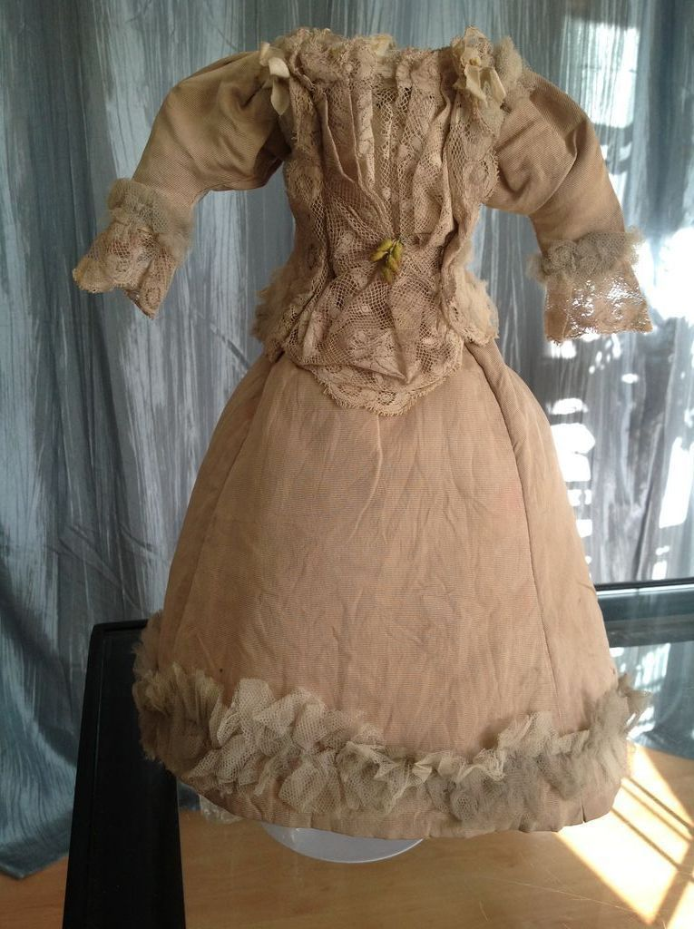 19thC Fashion Doll Outfit