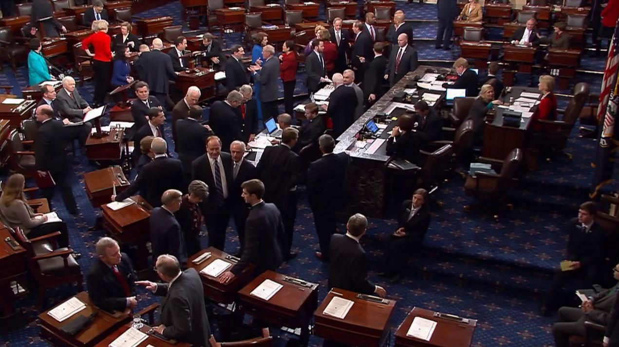 Watch Federal Network 39 S U S Senate Floor Debate On Livestream