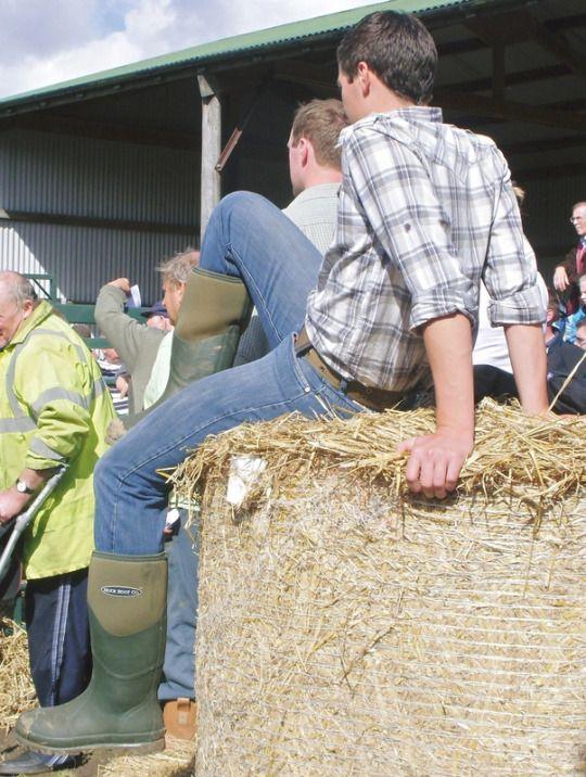 Farm Boy Guys Look Best In Their Jeans Country Wear