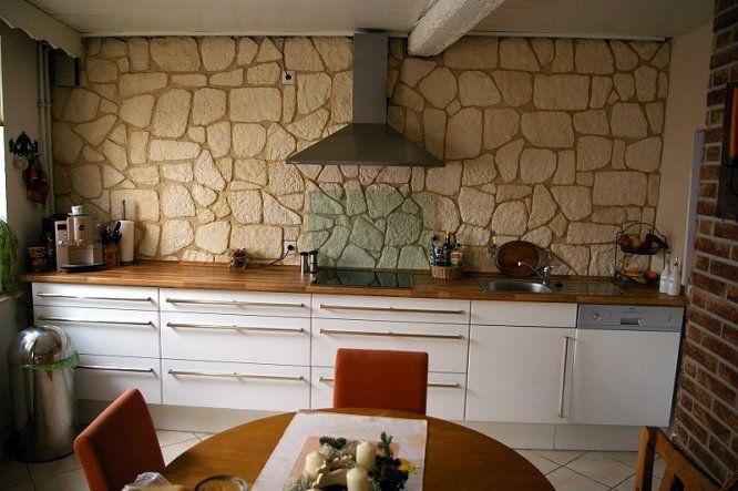 küchenzeile weiß holz cooking place Pinterest Interiors - küche ohne oberschränke
