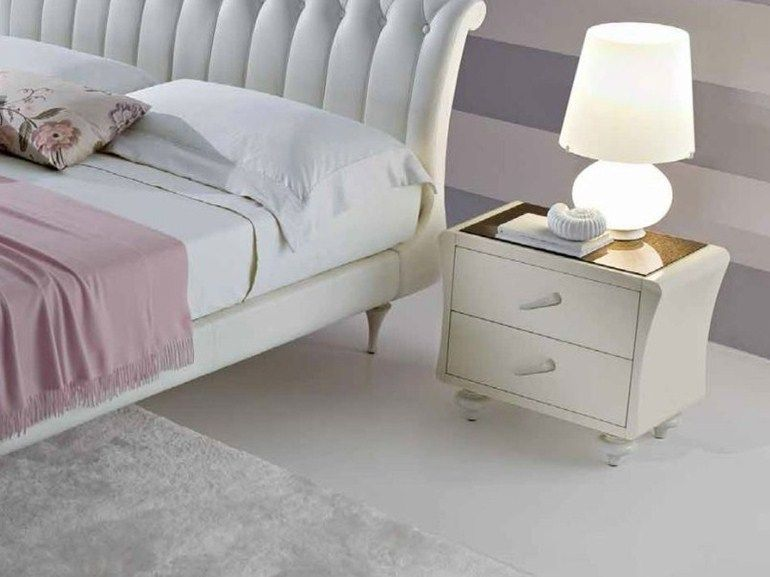 Ciacci Mobili ~ Vintage bedside table with drawers by ciacci veladores