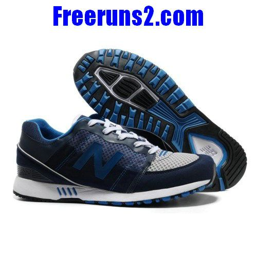 new balance 751 deep blue white mesh running shoes perfact