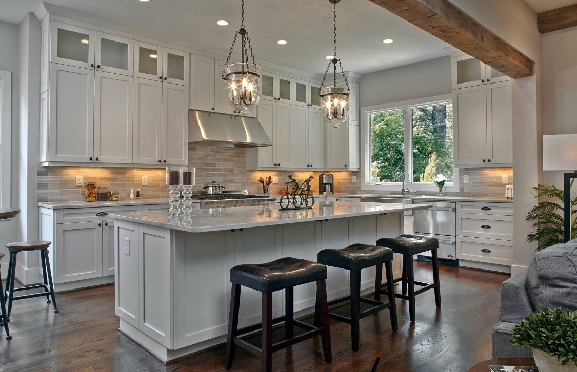 idea by theresa turner on new house kitchen breakfast room large kitchen design kitchen on kitchen remodel with island open concept id=69054