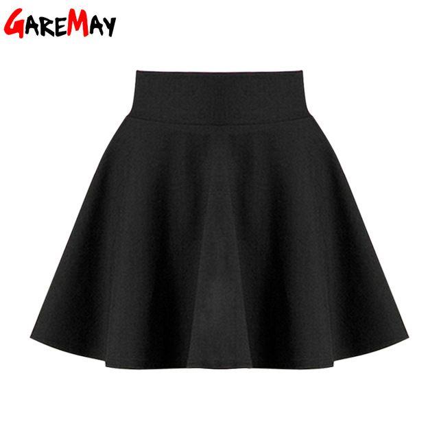 86c0163adee5 Falda corta para mujer 2018 All Fit tutú falda de escuela Color ...
