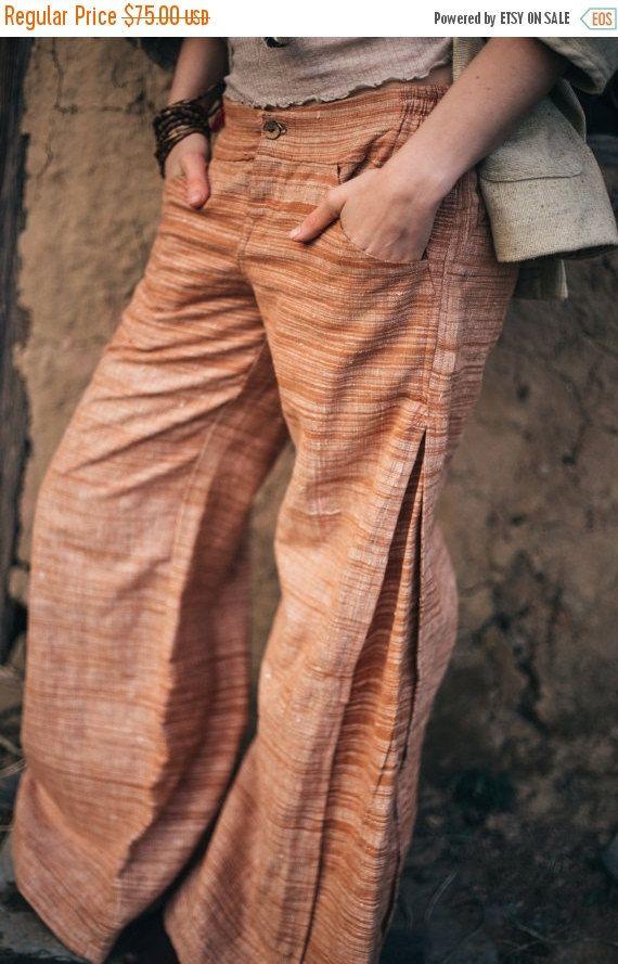 Hippie Khadi cotton pants For men