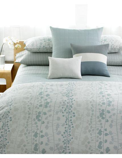 Duvet cover for the home pinterest duvet blue duvet for Calvin klein jardin collection