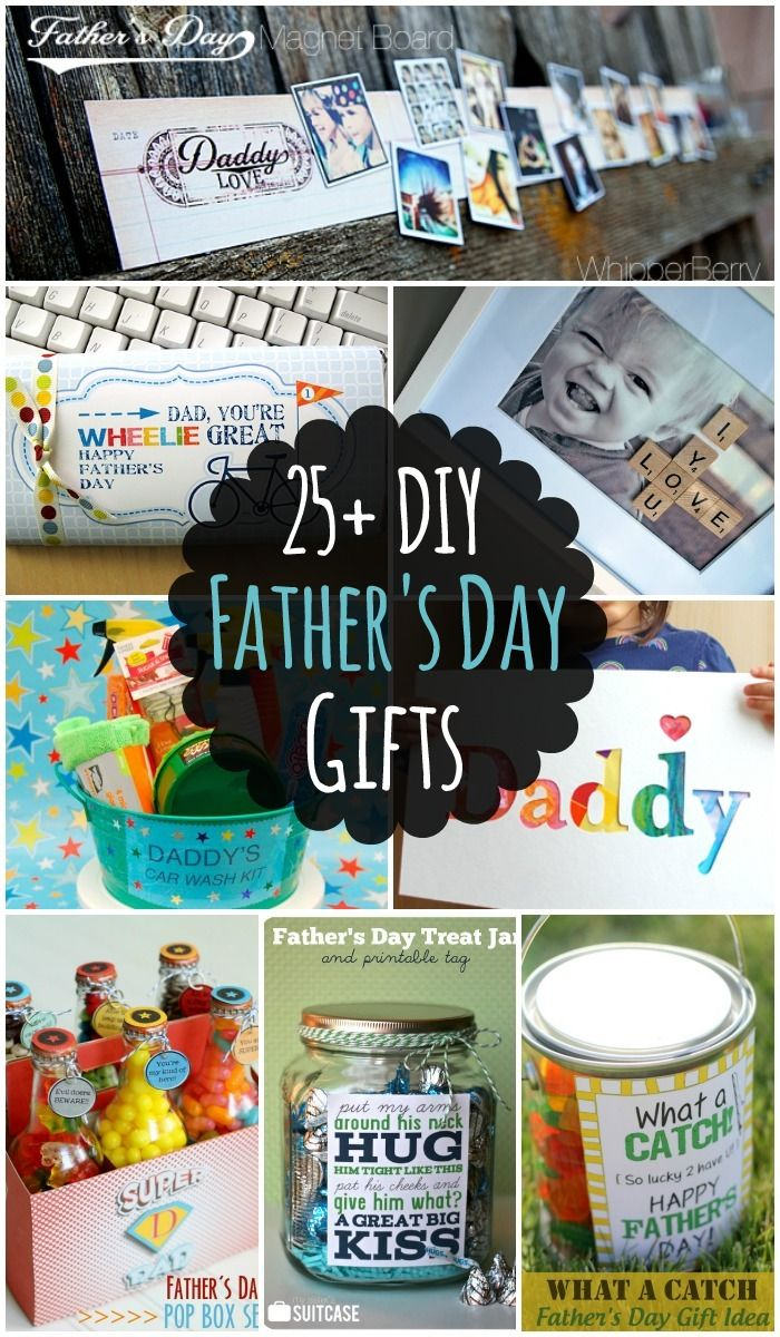 25 DIY Fathers Day Gift Ideas - lots of different DIY Ideas that ...