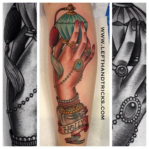 Tattoo By X-A-M At The Family Business Tattoo Parlour In