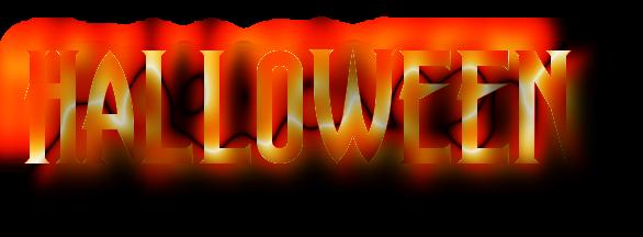 Resultado de imagen para letras halloween png