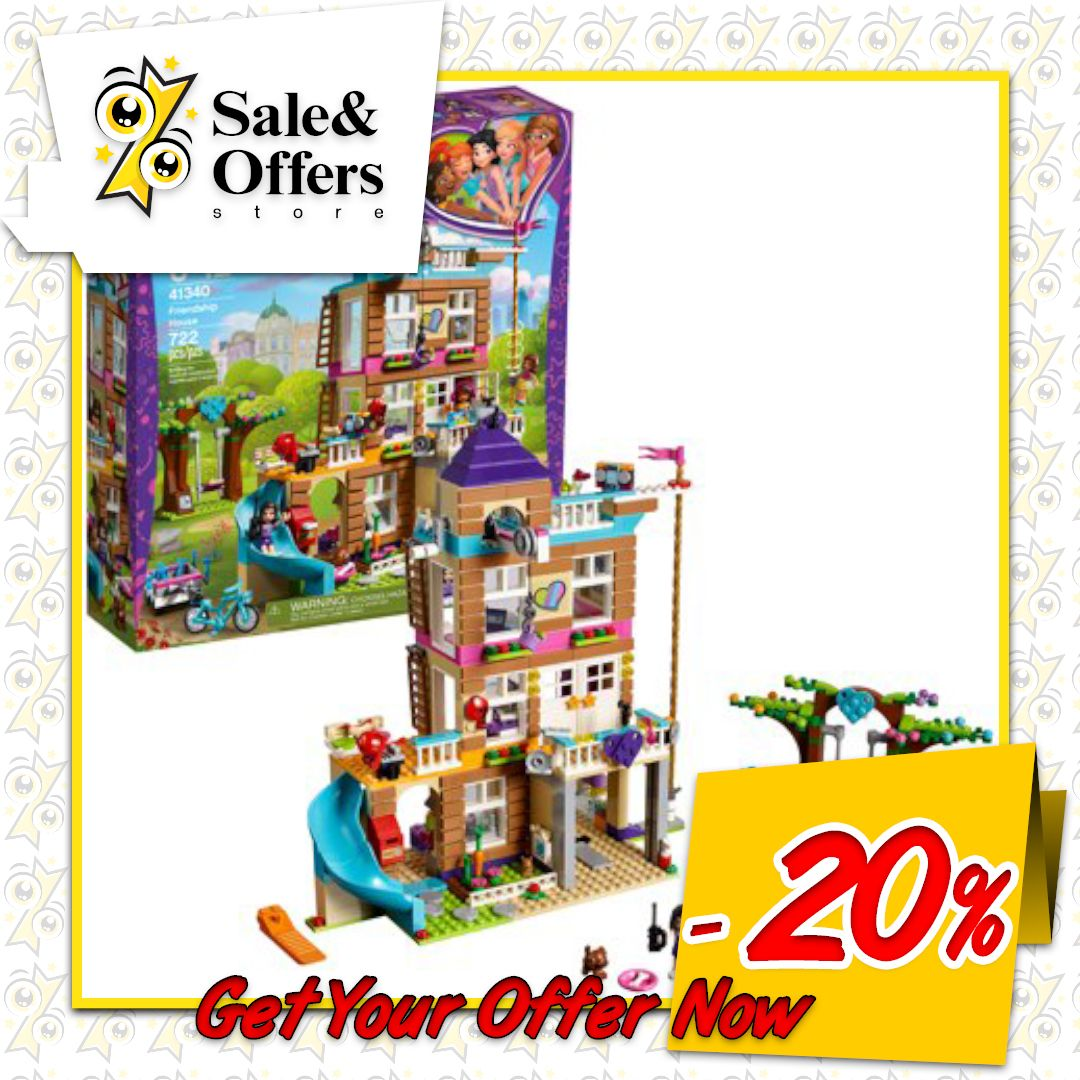 LEGO Friends Friendship House 722 Pieces | Friendship ...