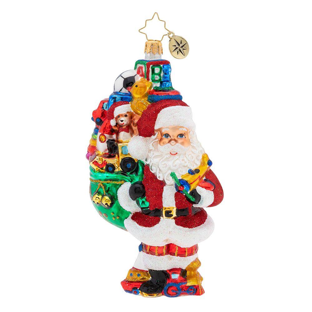 Christopher Radko Ornaments Toys Galore Ornament 1019786 Christmas Ornaments Classic Christmas Decorations Santa Ornaments