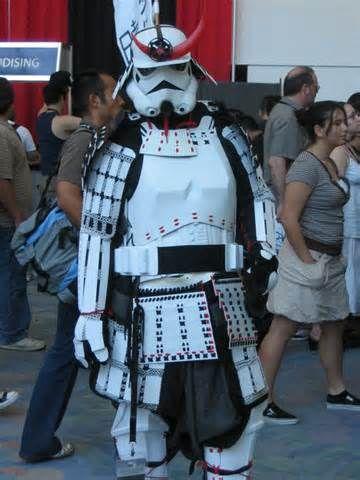 Stormtrooper Samurai Armor Star Wars Cosplay Star Wars Samurai