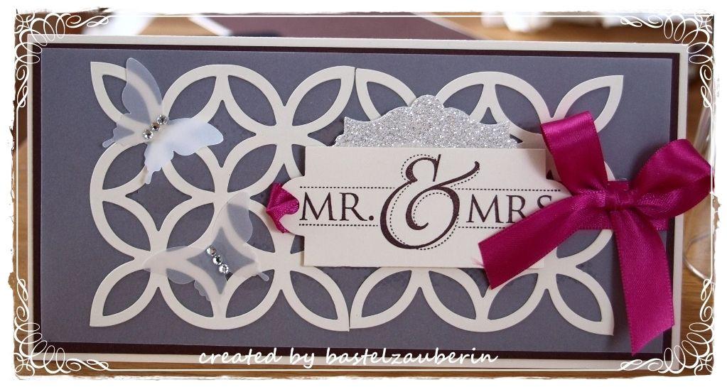Hochzeitskarte, Wedding Card Stampin UP