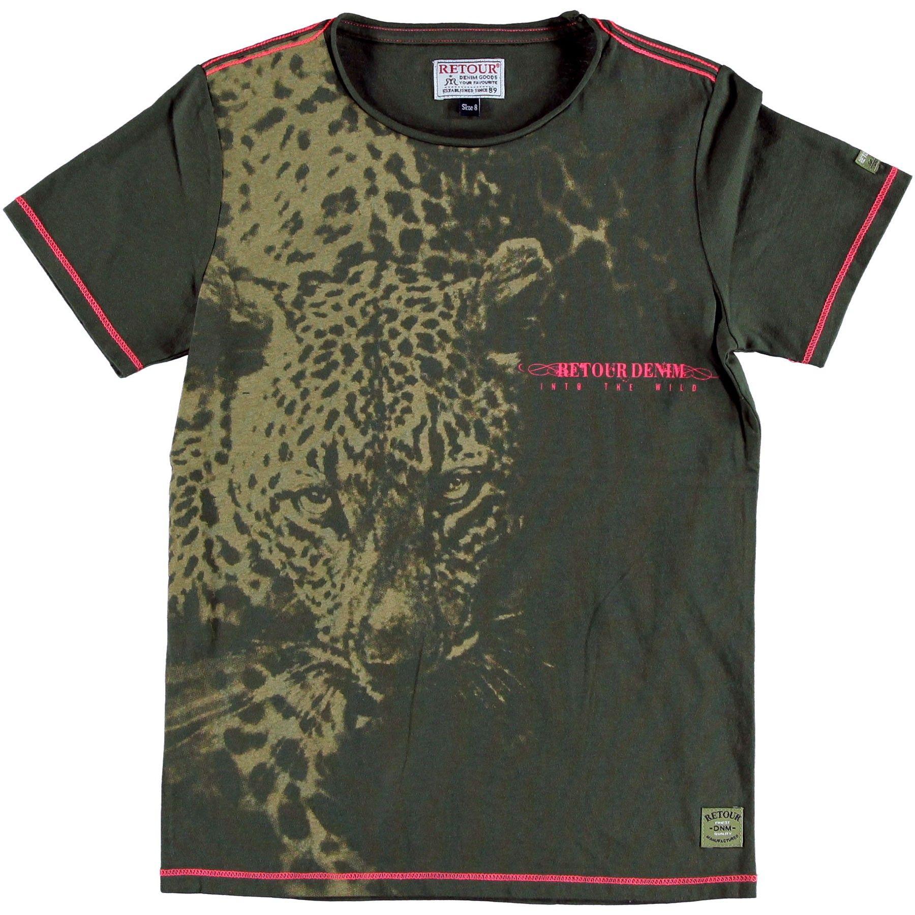 gut aus x Ruf zuerst Fang Retour Jungen T-Shirt Levi mit Leoparden Print | imnou | t ...