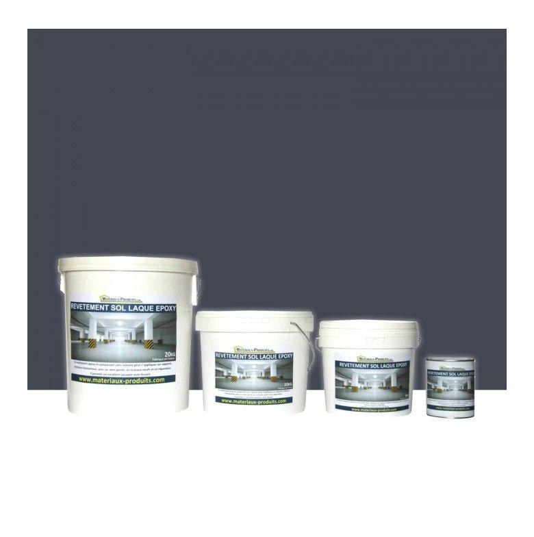 peinture de sol laque epoxy gris ardoise  25 kg gris