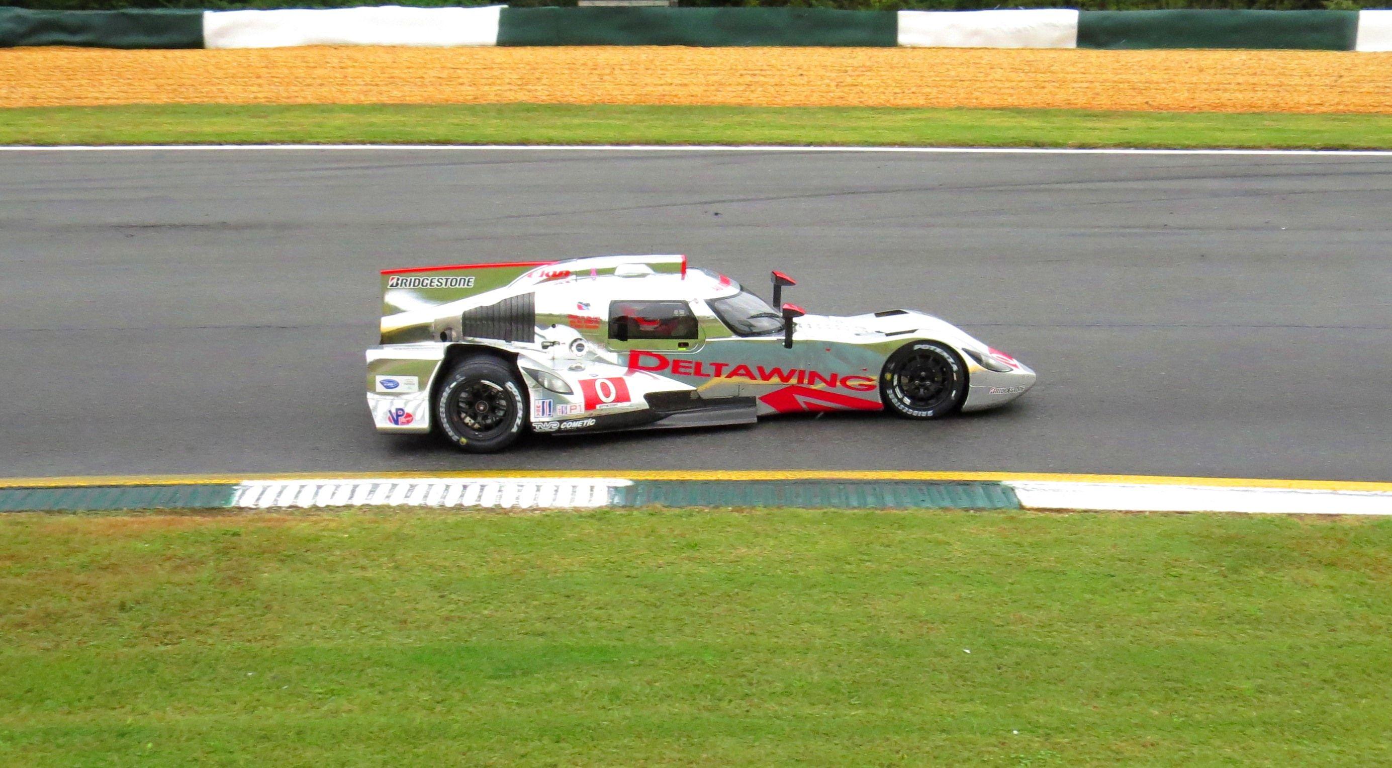 Deltawing turn 6 Road Atlanta 2013 Petit Le Mans Le mans