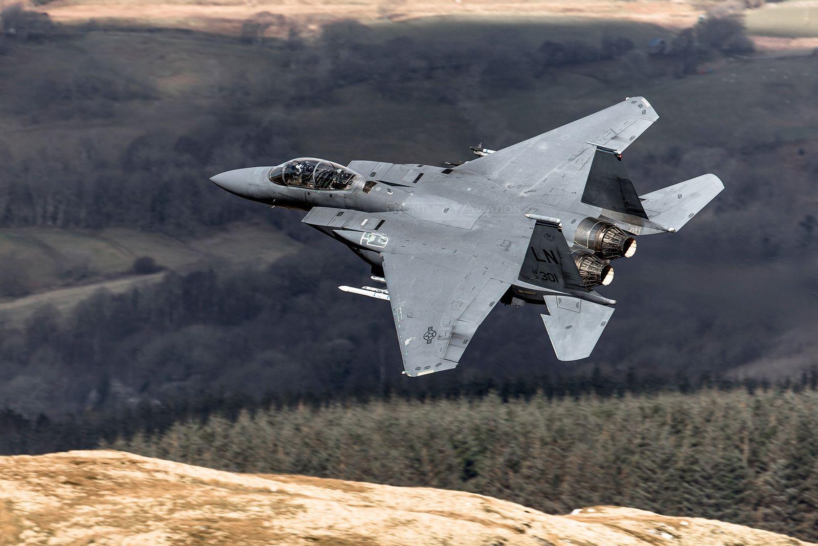 F-15E Eagle, Mad Flight, 91-0301, 492nd FS, 48th FW