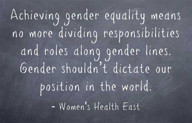 004 Challenge gender stereotypes! Equality meaning, Gender