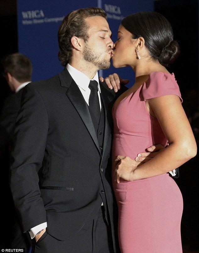 Gina Rodriguez shares a kiss with beau Henri Esteve at WHCD. White House  CorrespondentsIvanka Trump ...