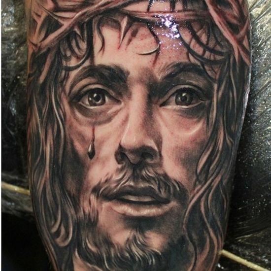 jesus tattoo tattoos ink inked pinterest jesus tattoo tattoo ink and tattoo. Black Bedroom Furniture Sets. Home Design Ideas