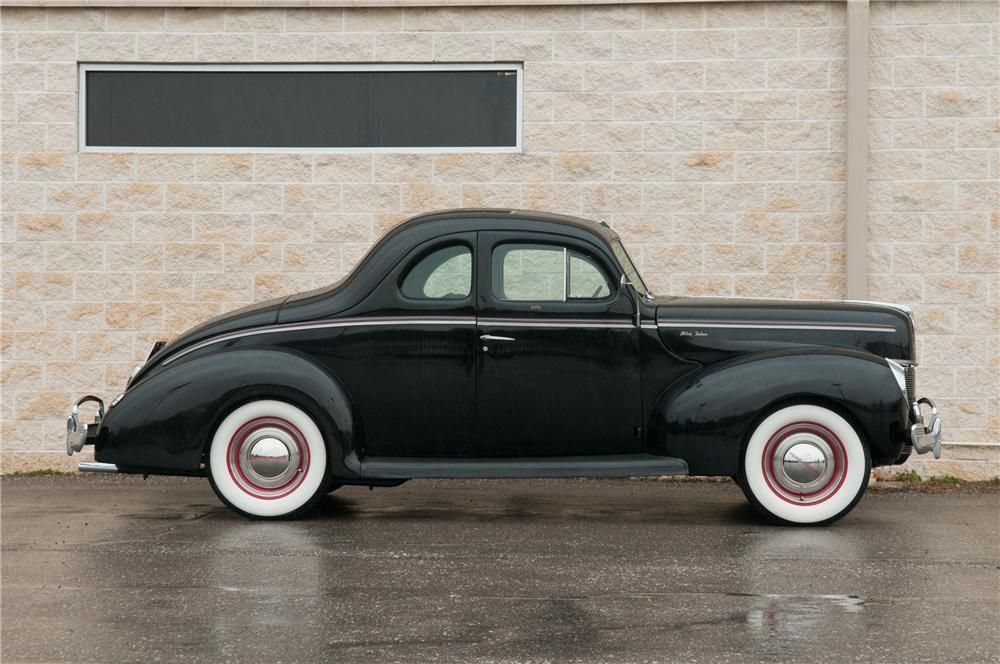1940 FORD DELUXE CUSTOM 2 DOOR COUPE | Vehicles | Pinterest | Ford ...