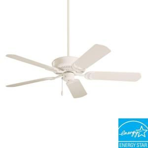 Illumine Non-Lit 52 in. Outdoor Summer White Ceiling Fan-CLI-ONF110AW at The Home Depot