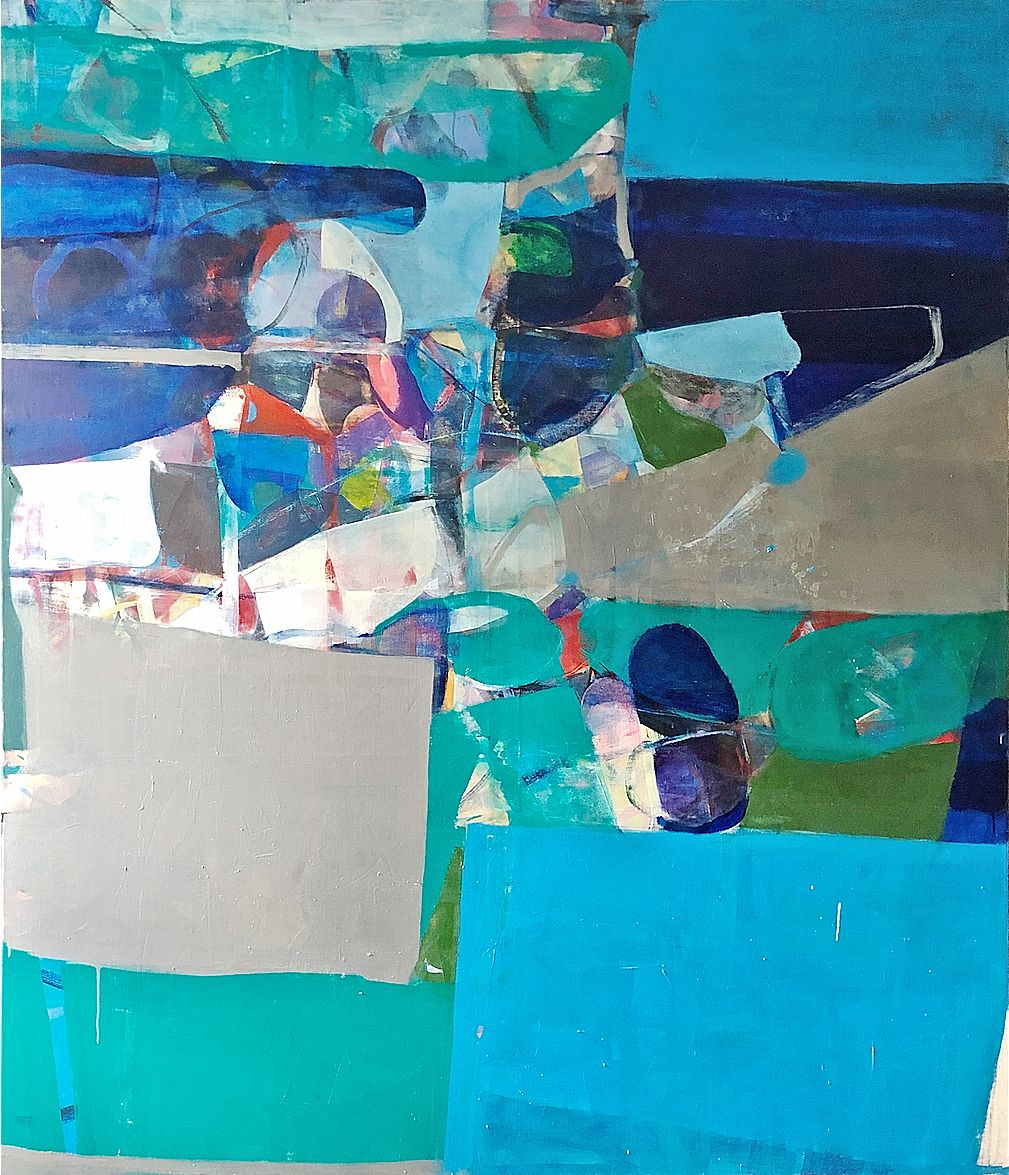 "Robert Szot. Untitled 22. 2019. Oil on linen. 72"" x 60"