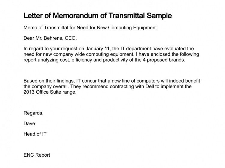 Transmittal Letters Examples Fresh 6 Letter Of Transmittal
