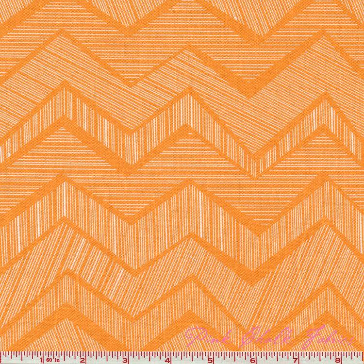 Alice Kennedy Matilda Chevron Citrus - Click Image to Close