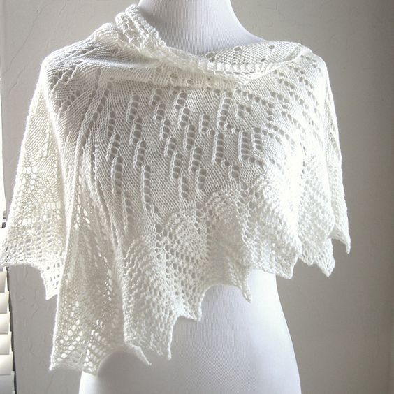 Uhura Shawl By MMario - Free Knitted Pattern - (ravelry) | Crafts ...