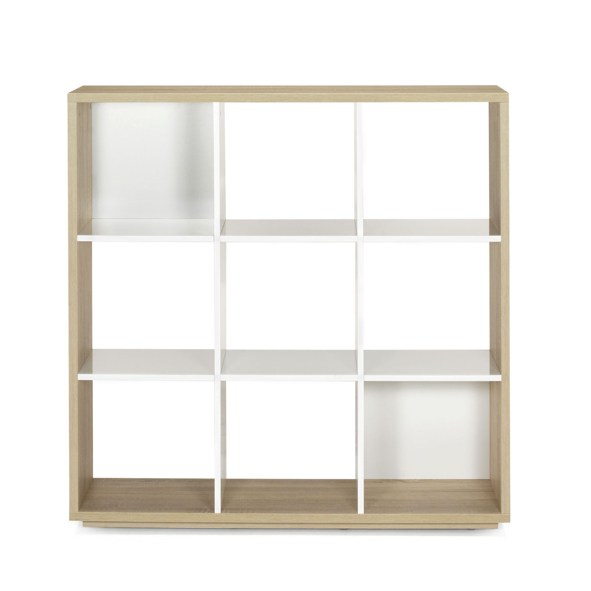 Alinea Meuble A Case Bibliothèque 9 Cases Design Scandinave Checker Alinea Home
