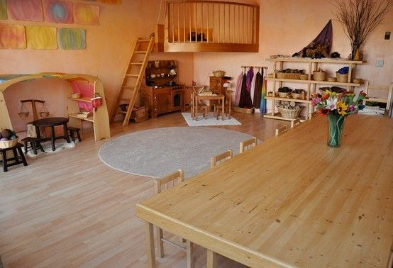 Another View Of That Waldorf Preschool In Ca Waldorf Preschool Waldorf Playroom Homeschool