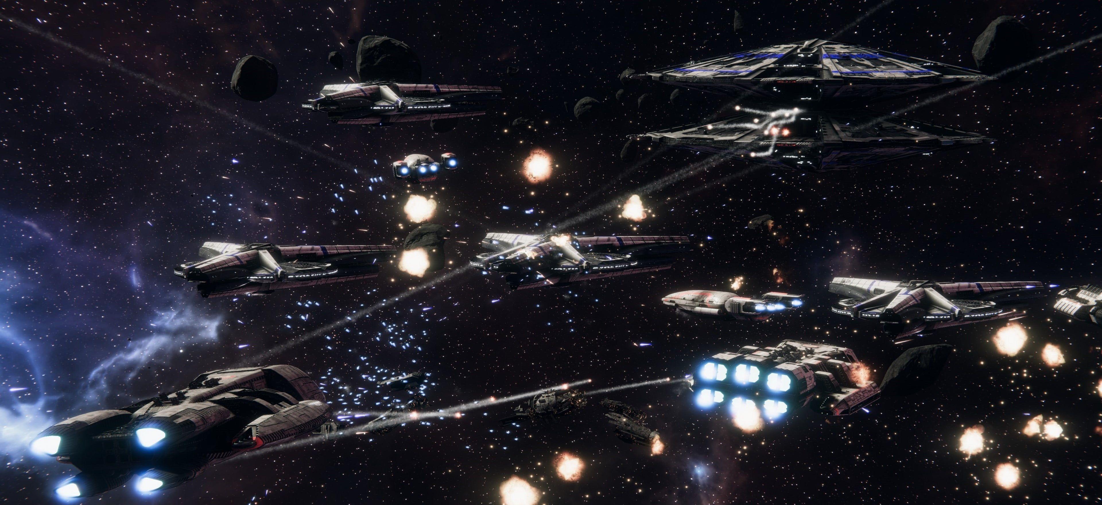 Space Space Battle Battleship Battlestar Battlestar Galactica Battle Cylons Cylon War Toaster Deadlock Space Battles Battlestar Galactica Battleship