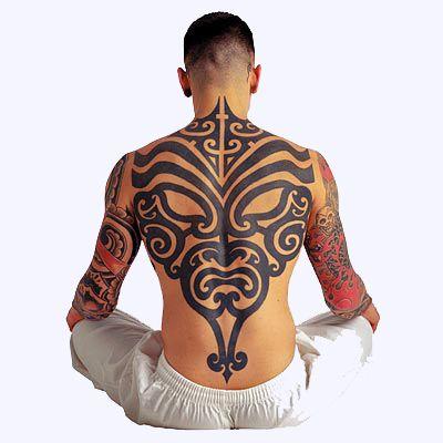 Tatouage Tribal Dos Homme Uu27itu Tatouage Tribal Bas Du Dos