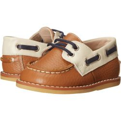 sale Elephantito - Boat Shoes (Infant/Toddler) (Leather Caramel) Boy's Shoes