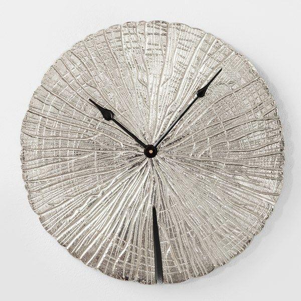 56dbbeedc Nástěnné hodiny Albero Silver | dekorace | Dekorace, Design nábytku ...
