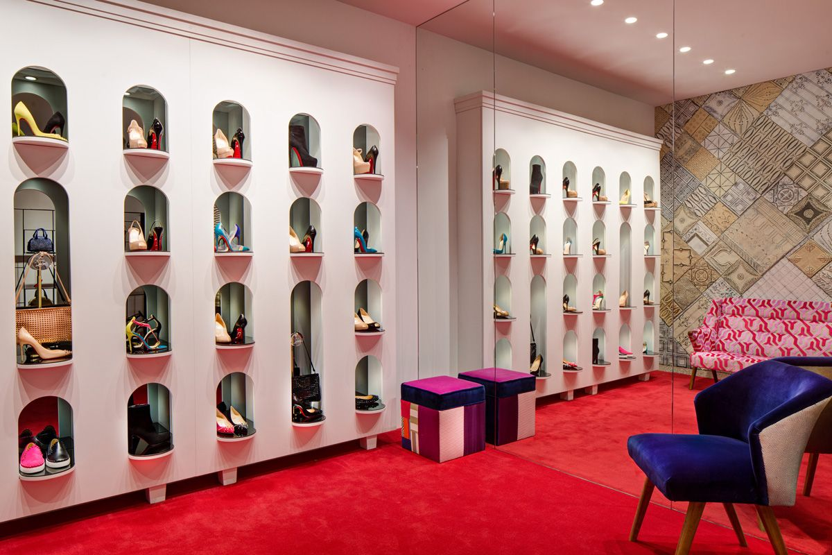 louboutin store in cannes
