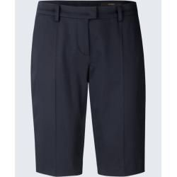 Baumwollsatin-Bermuda in Navy windsor