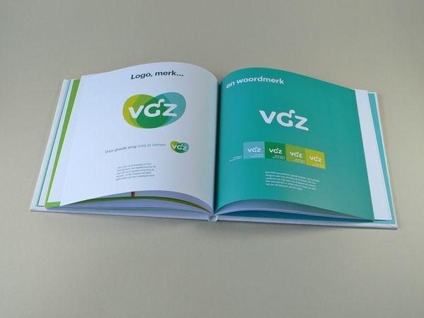 Vgz Brand Book By Verena Tam Via Behance Brand Book Brand Branding Inspiration