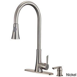 Dyconn Modern Kitchen Pull Out Faucet | Overstock.com Shopping   Great  Deals On