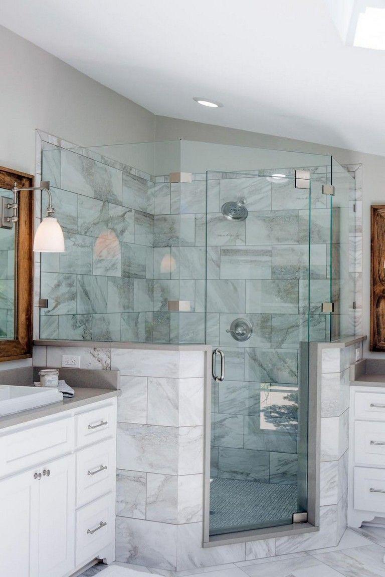 Beach Themed Bathroom Decor Beach Style Bathroom Patterned Blue Sea Shower Tile Sho In 2020 Beach Theme Bathroom Decor Beach Theme Bathroom Ocean Themed Bathroom Decor