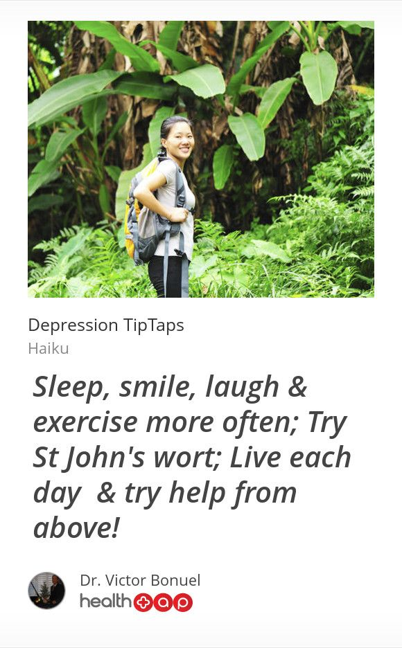 You can work through your depression!