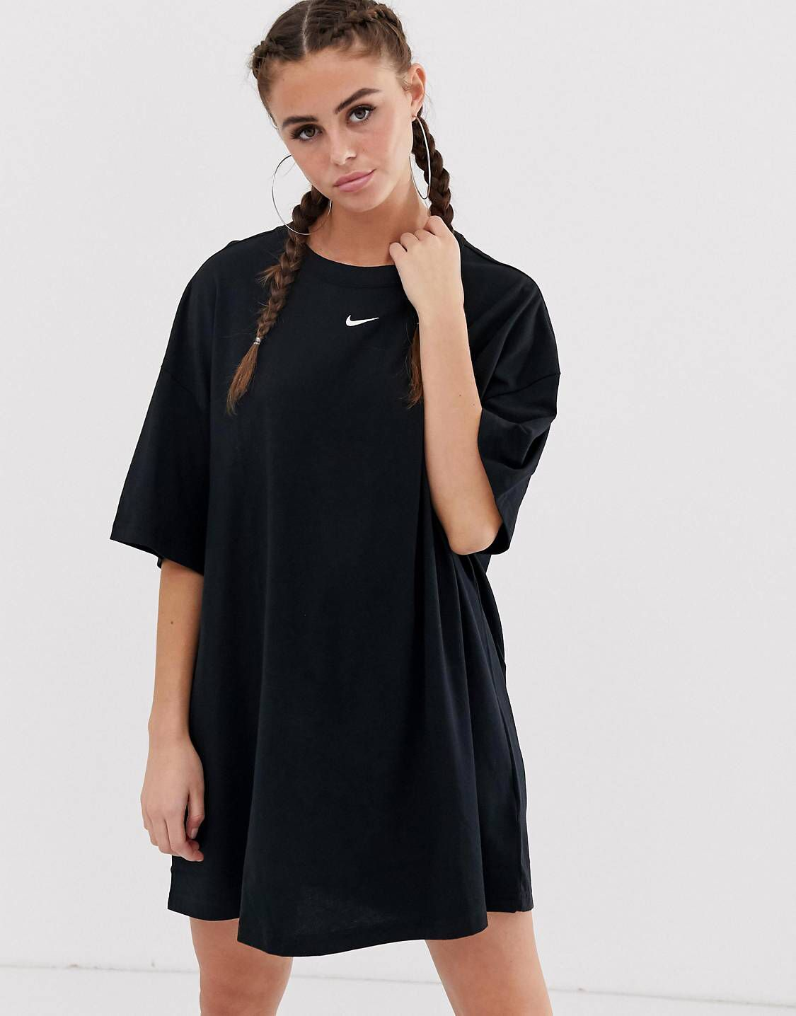 9a32182b684b Nike Black T-Shirt Dress in 2019