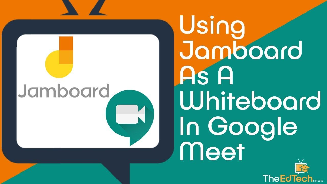 How To Use Google Jamboard As A Whiteboard Within Google Meet Tutorial Distance Learning Teacher Technology Classroom Tech