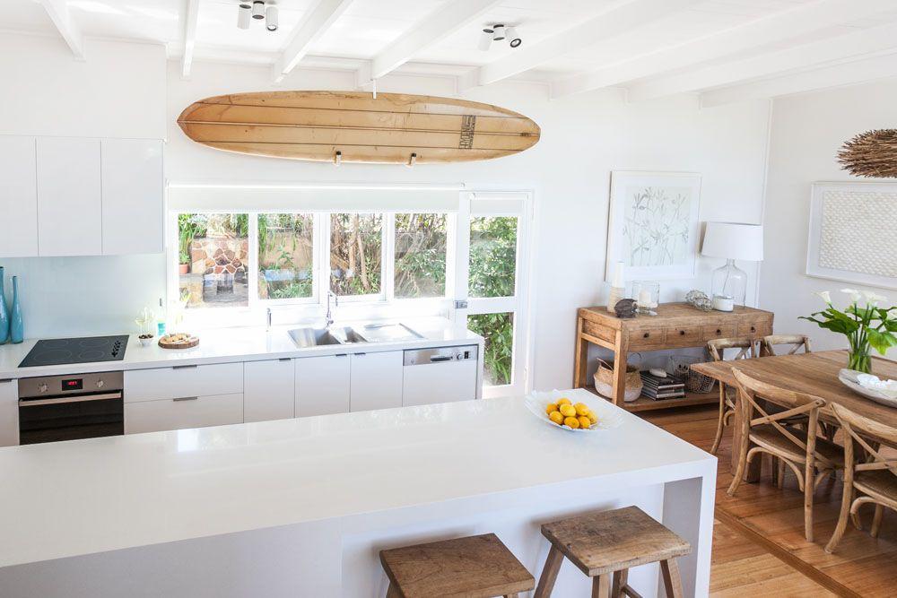 25 Best Beach Style Kitchen Design Ideas   Neue wohnung, Umbau und Küche